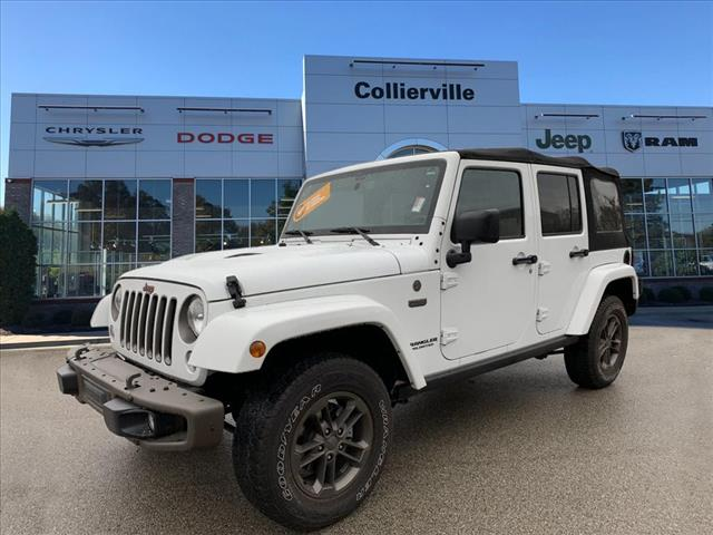 Certified Pre-Owned 2016 Jeep Wrangler Unlimited Sahara 75th Anniversary