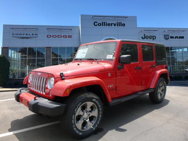 New 2018 Jeep Wrangler Unlimited ALTITUDE 4X4