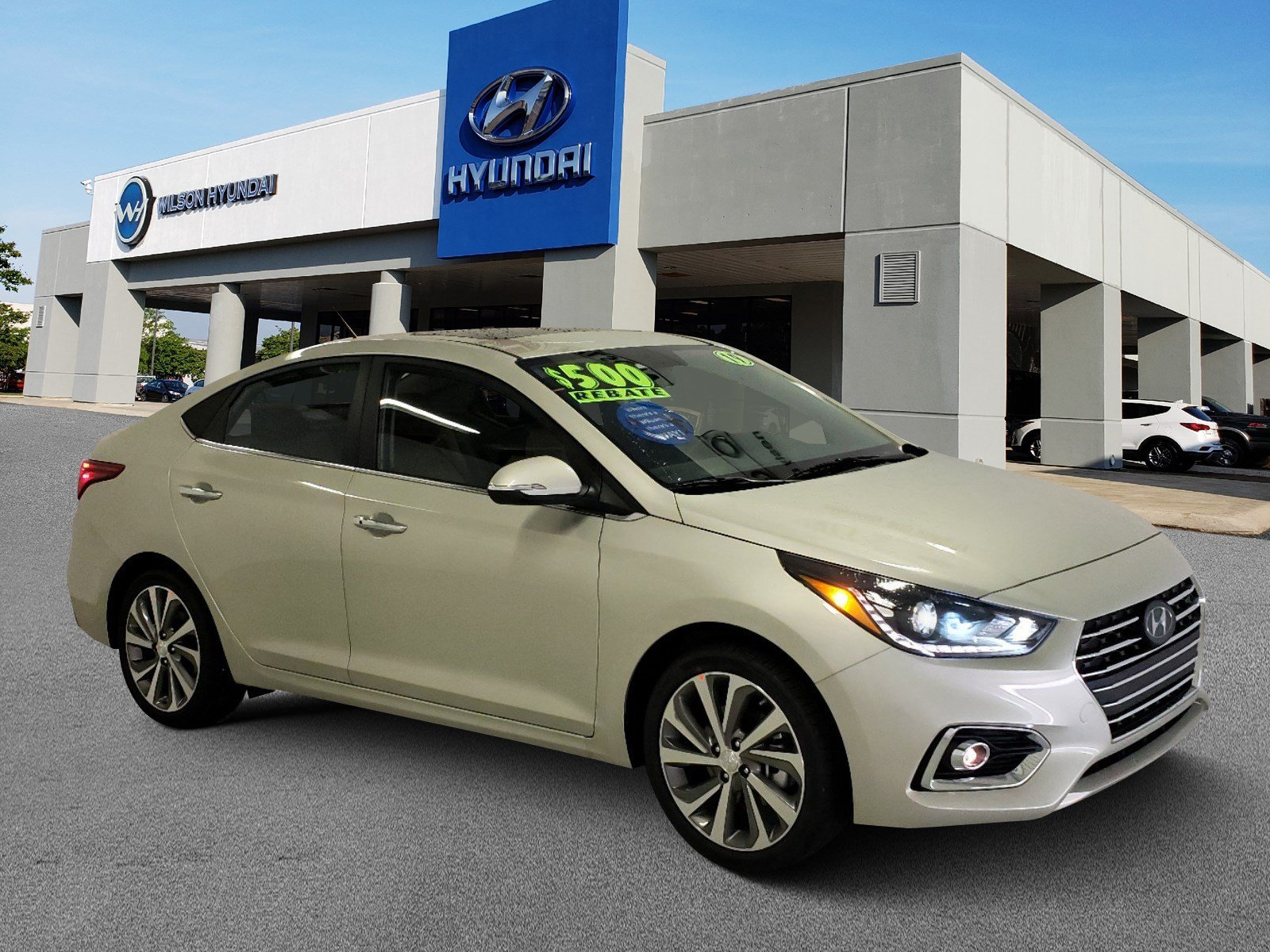 New 2019 Hyundai Accent Limited 4dr Car in Jackson MS