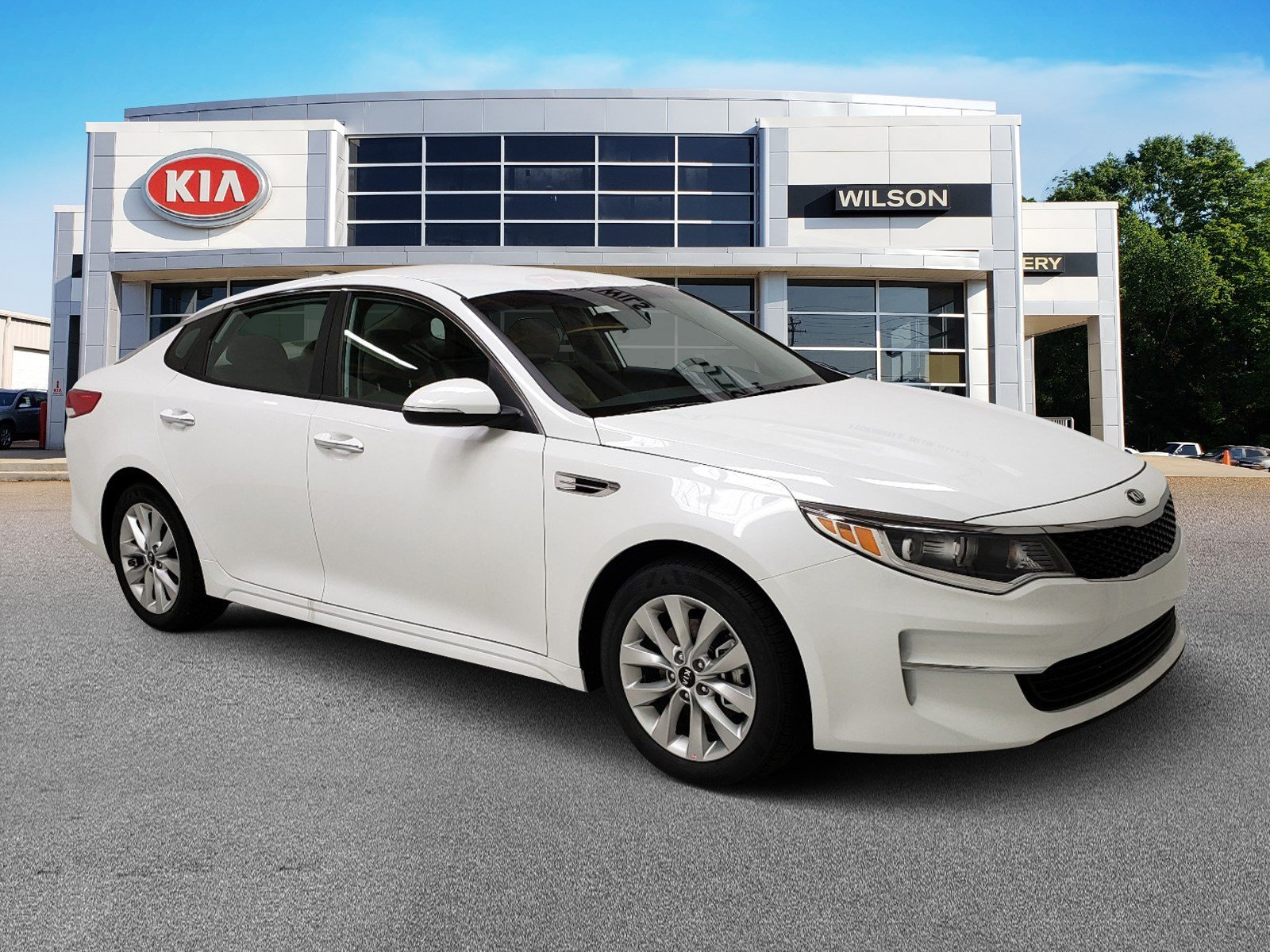 New 2018 Kia Optima Lx 4dr Car In Jackson Ms 39232 K253593 Rear View Camera