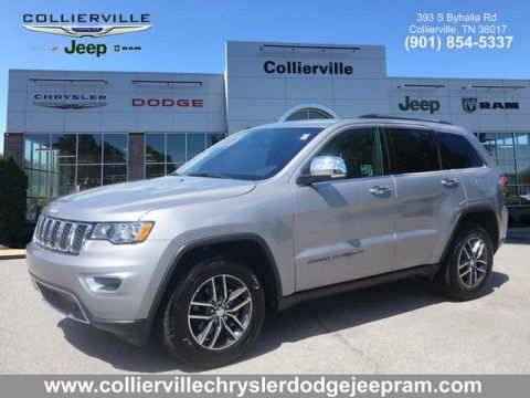 Certified Pre-Owned 2018 Jeep Grand Cherokee LIMITED 4X2